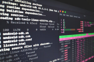 linux htop screen