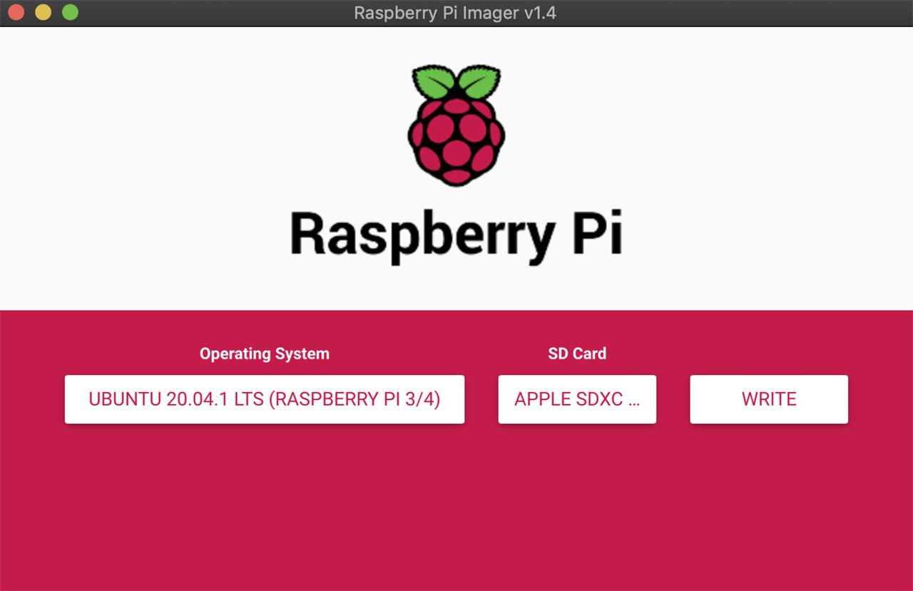 raspberry pi imager flashing ubuntu