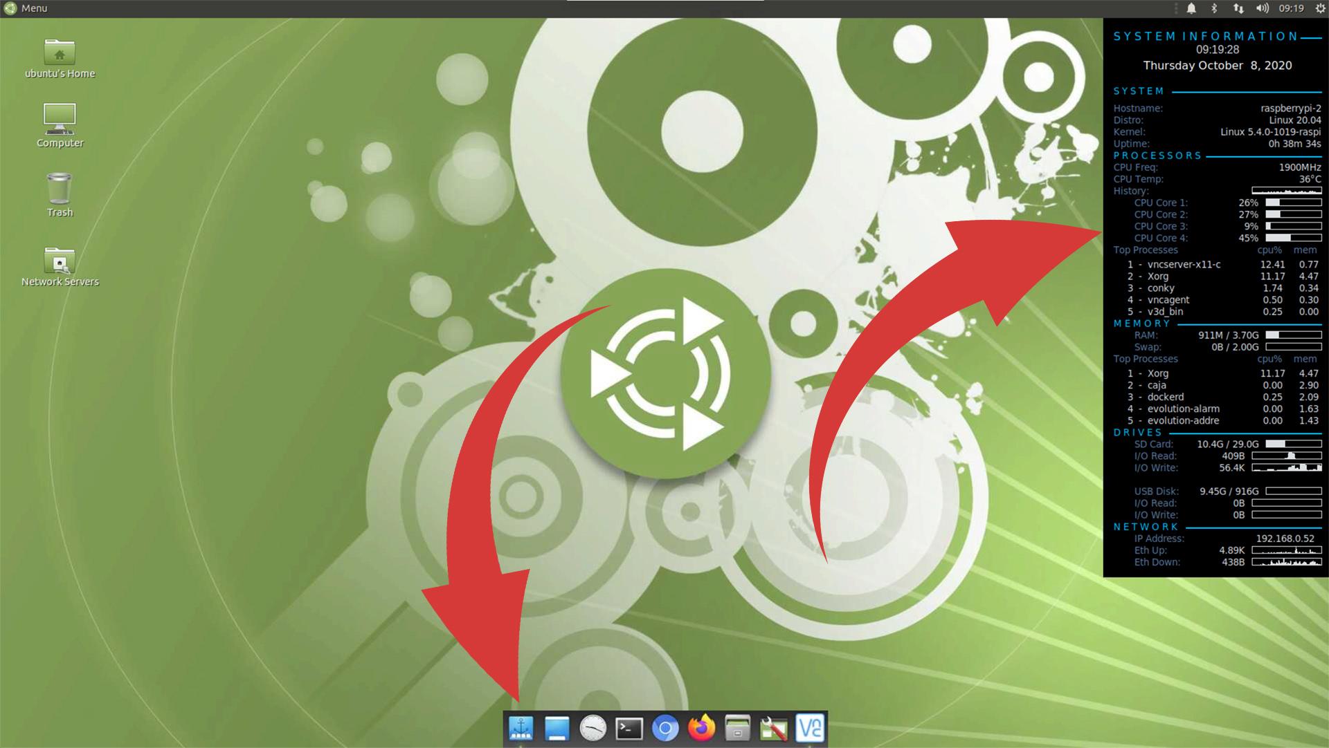 ubuntu mate without transparency